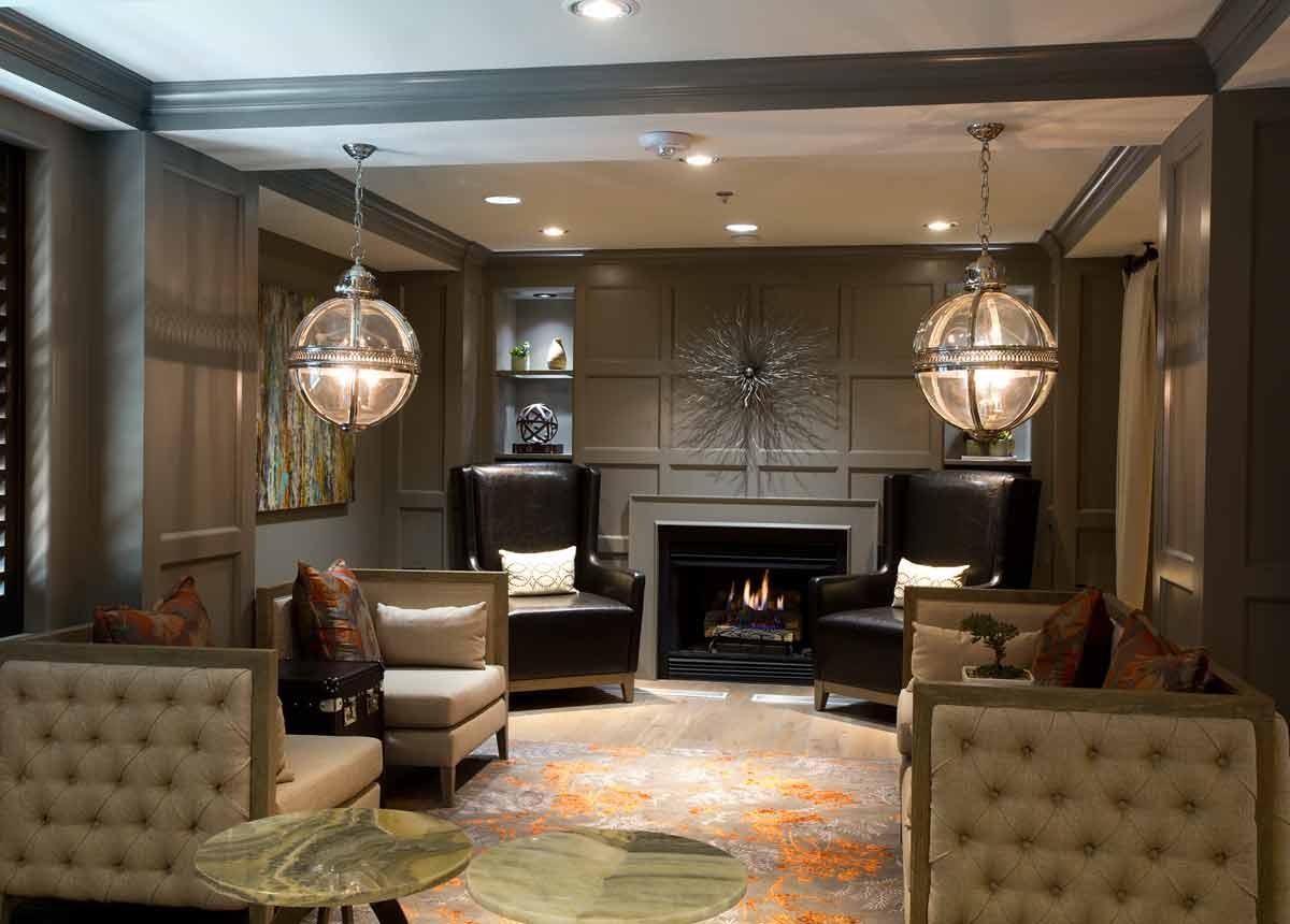 View of lobby at Ambasador Hotel Oklahoma City