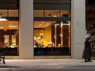 Exterior street view of Siena Tuscan restaurant in Wichita