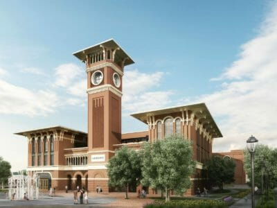 Rendering of Grapevine Main project in Texas