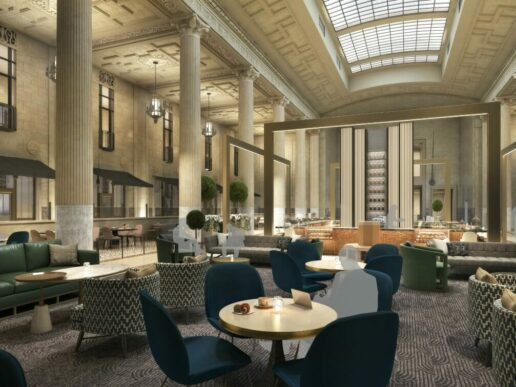 Rendering of the future The National hotel in Kansas City