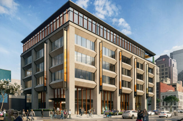 Hotel Indy exterior rendering
