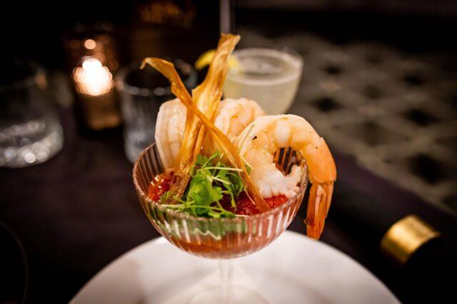 Lonnie's Reno Club shrimp cocktail