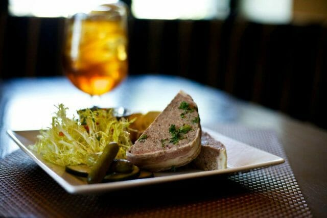 Pate at a French restaurant in OKC