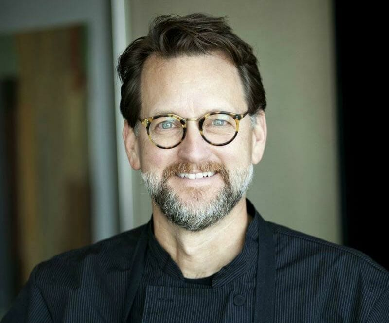 Chef Kurt Fleischfesser at Café Cuvée