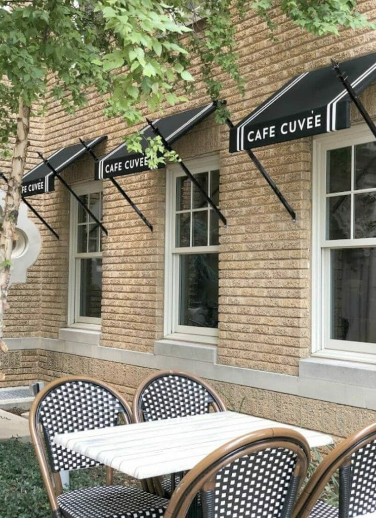 Restaurants in OKC, Cafe Cuvee