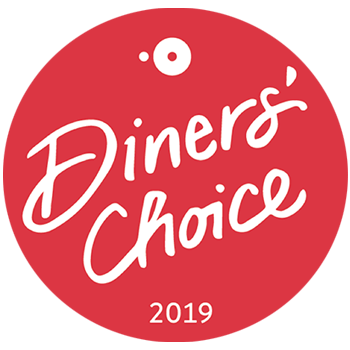 Diners Choice OpenTable 2019 Winner