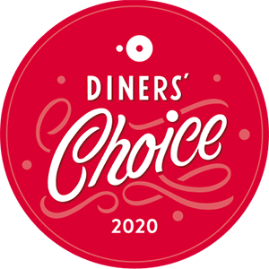 red diners choice 2020 badge