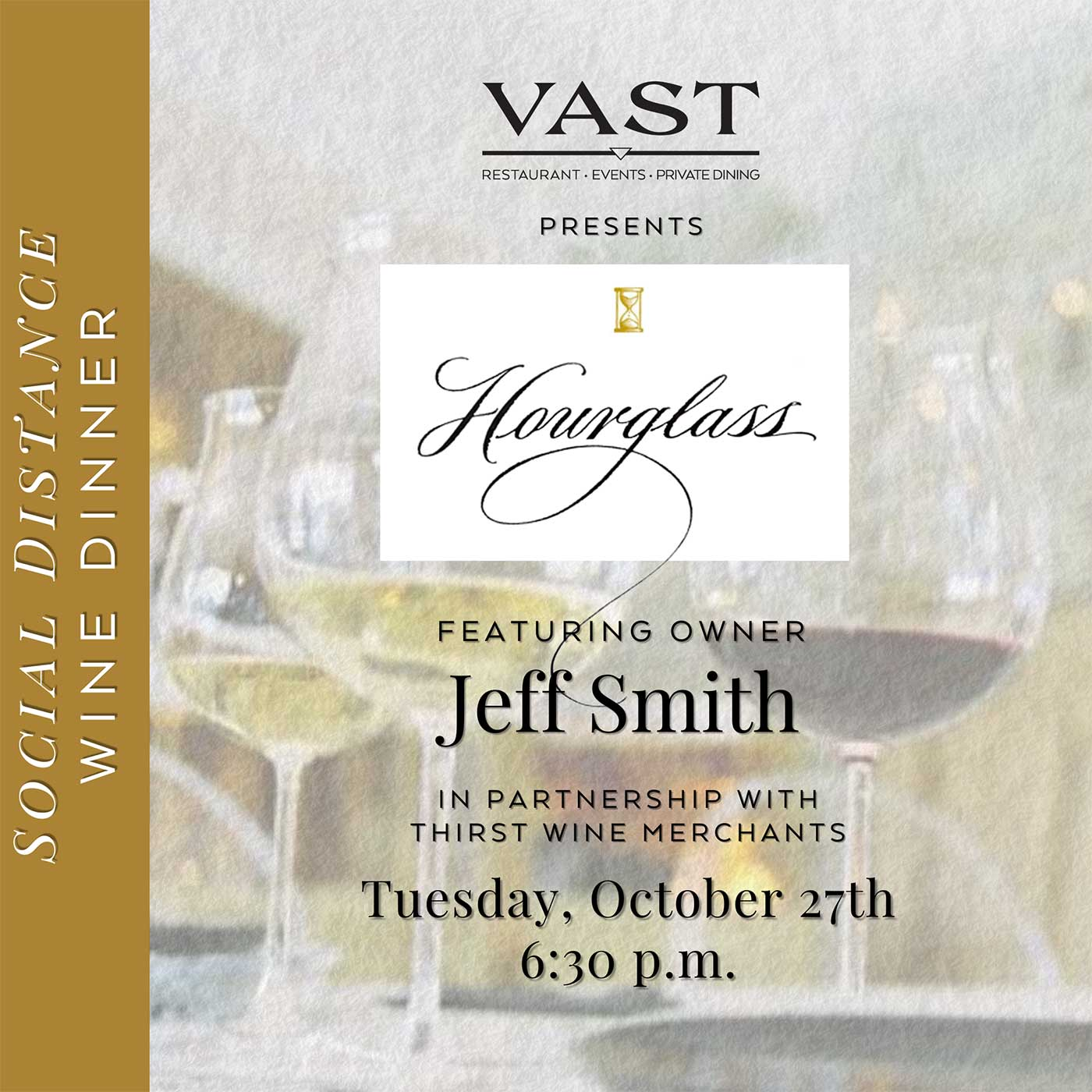 Come sip and savor with Hourglass Vineyards Owner: Jeff Smith