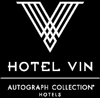 Hotel Vin Logo White